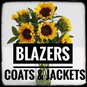 Blazers, Coats, and Jackets